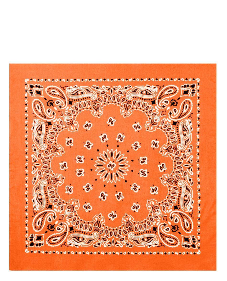 Image of   Rothco Bandana 7 (Orange, One Size)