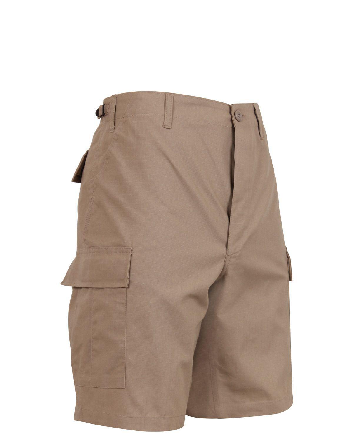 "Rothco BDU Shorts i Rip-Stop (Khaki, 2XL / 43""-47"")"