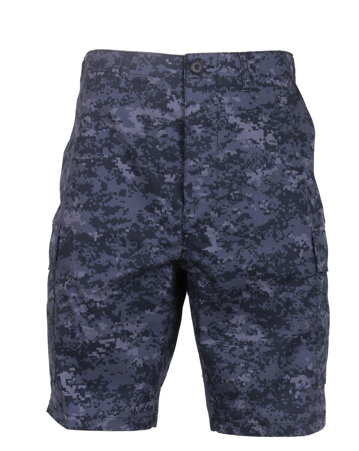 "Rothco BDU Shorts (Digital Midnight Camo, 3XL / 47""-51"")"