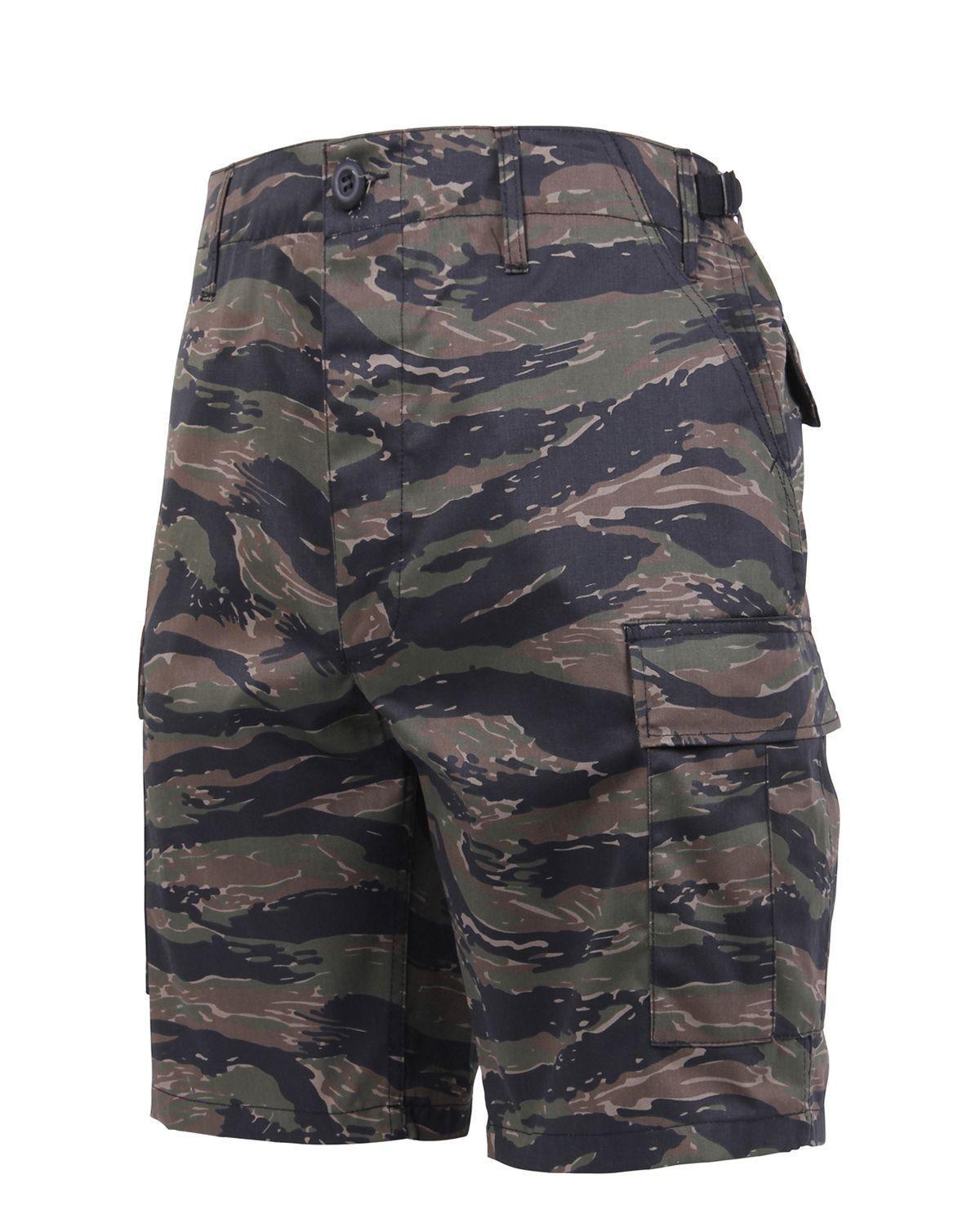"Rothco BDU Shorts (Tiger Stripe, 2XL / 43""-47"")"