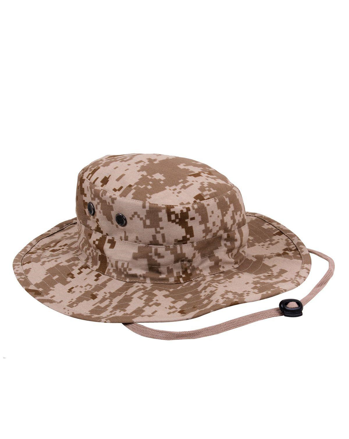 Image of   Rothco Boonie Hat, Justerbar (Desert Digital Camo, One Size)