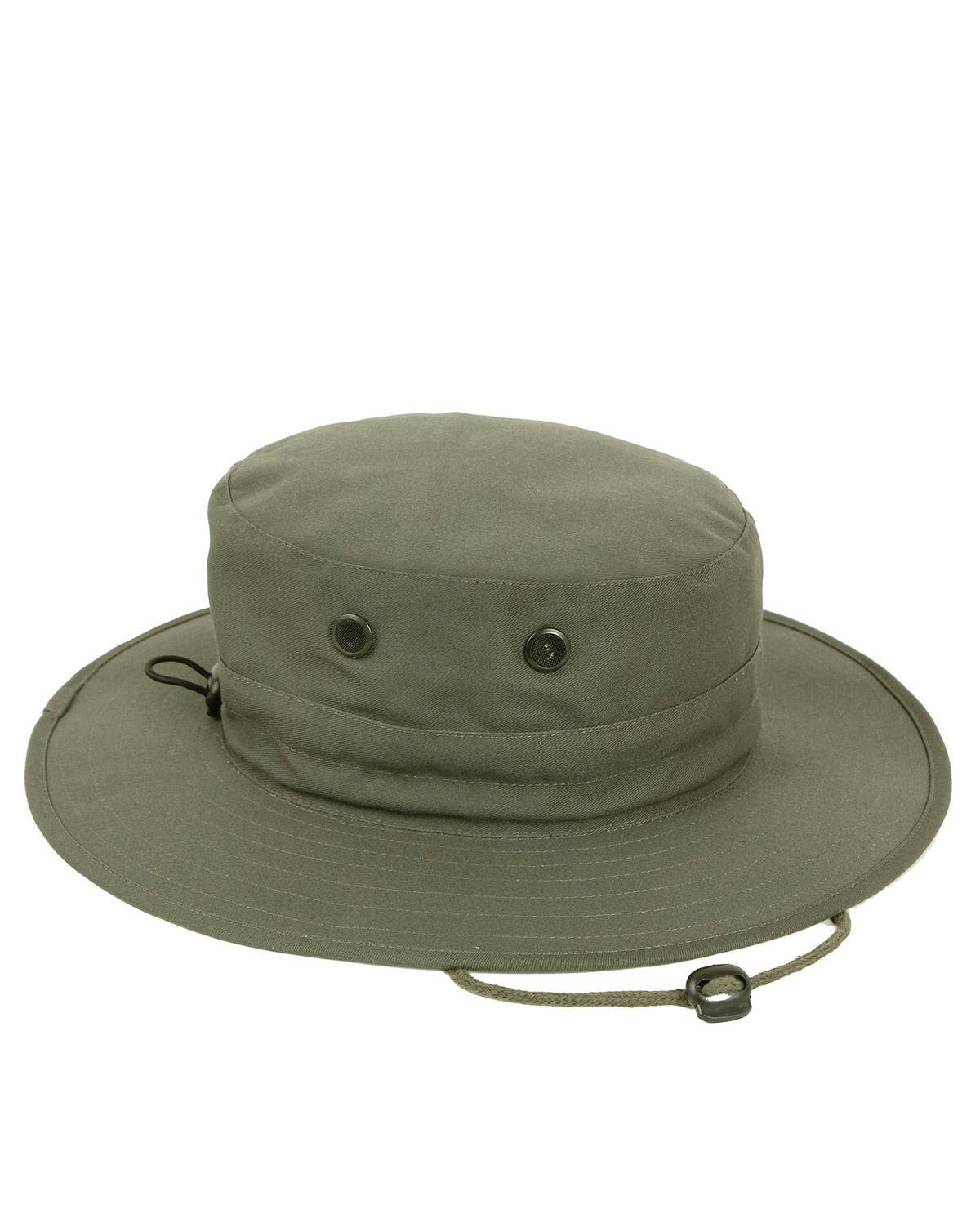 Image of   Rothco Boonie Hat, Justerbar (Oliven, One Size)
