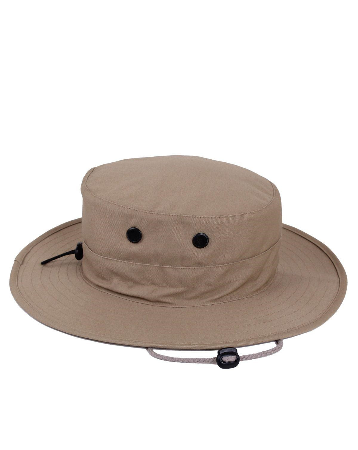Image of   Rothco Boonie Hat, Justerbar (Khaki, One Size)