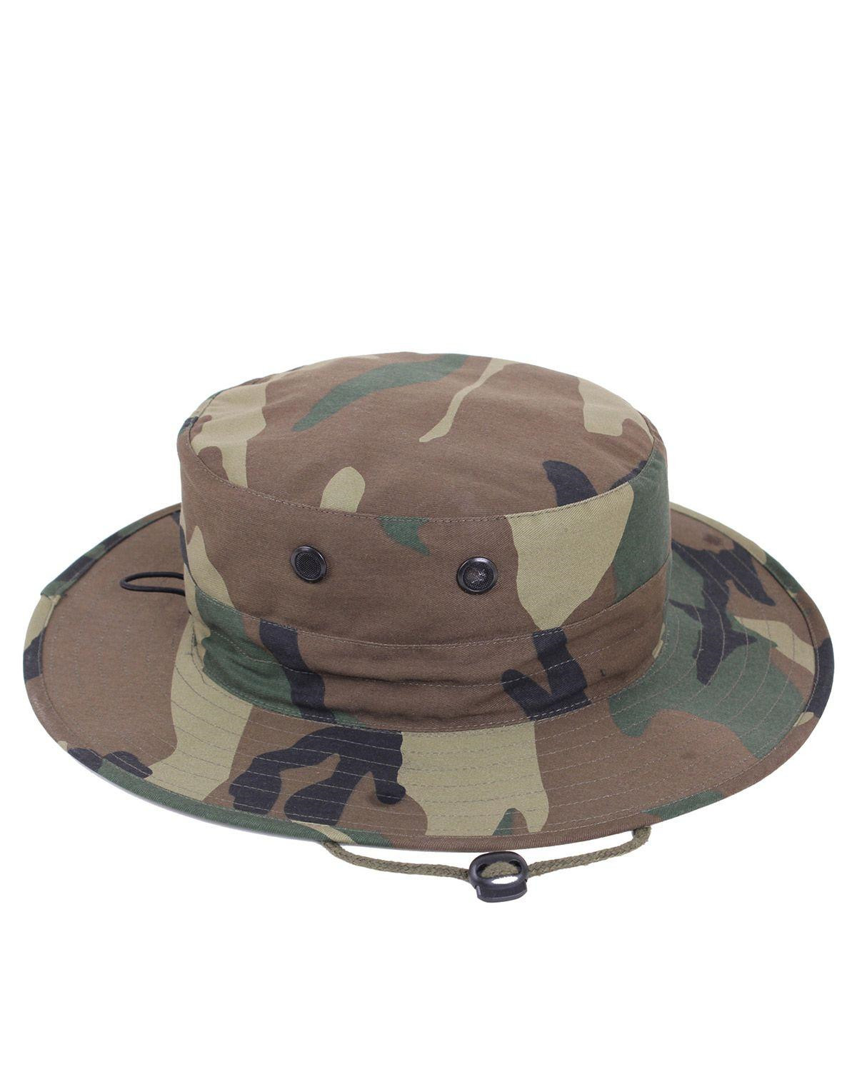 Image of   Rothco Boonie Hat, Justerbar (Woodland, One Size)