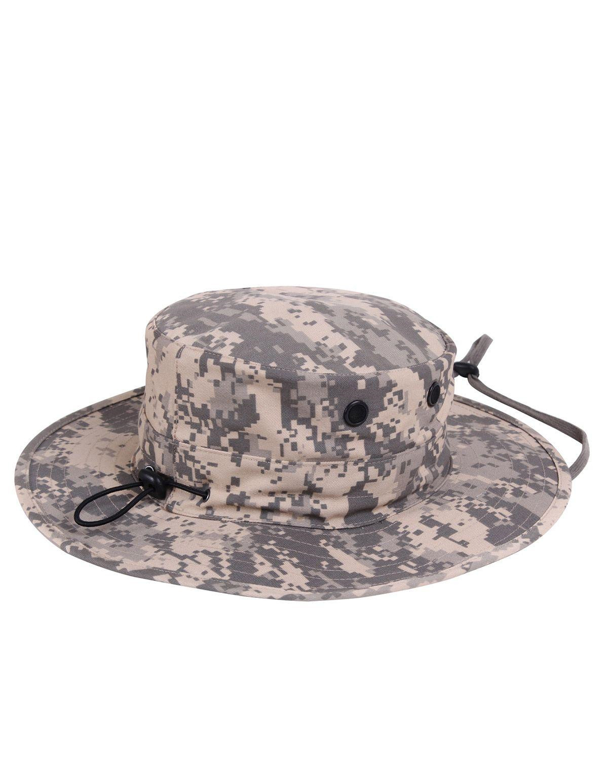Image of   Rothco Boonie Hat, Justerbar (ACU Camo, One Size)