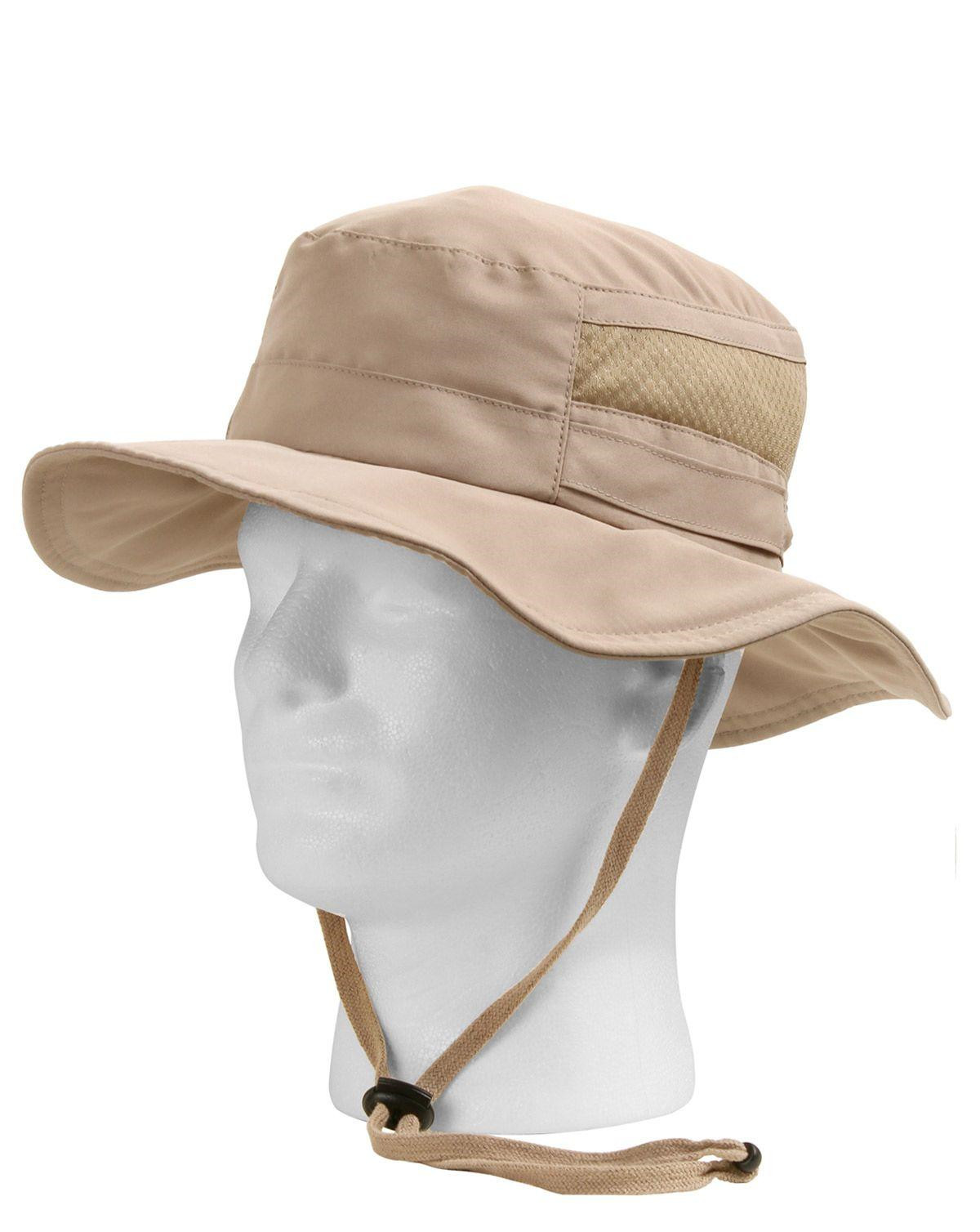 Image of   Rothco Boonie m. Net - Letvægt (Khaki, One Size)