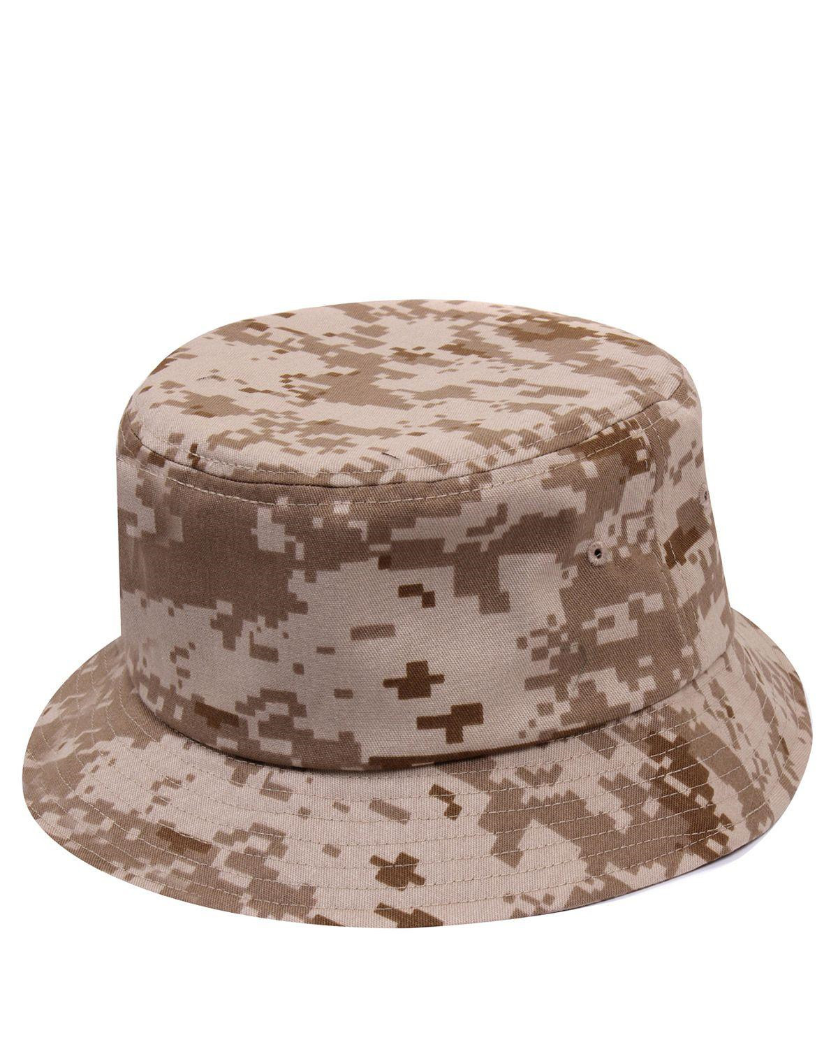 Image of   Rothco Bucket Hat (Desert Digital Camo, L/XL)