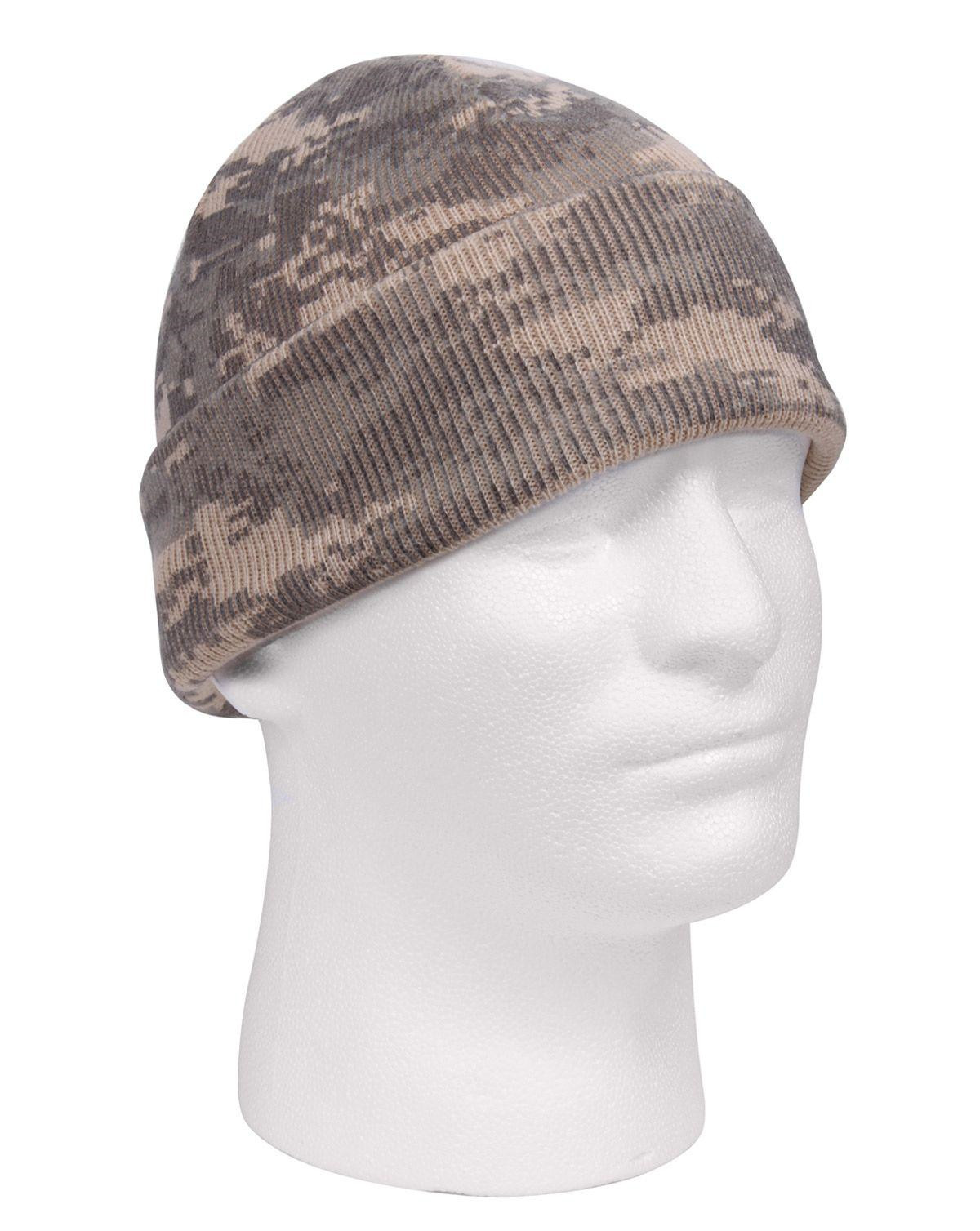 Image of   Rothco Camo Watch Cap (ACU Camo, One Size)