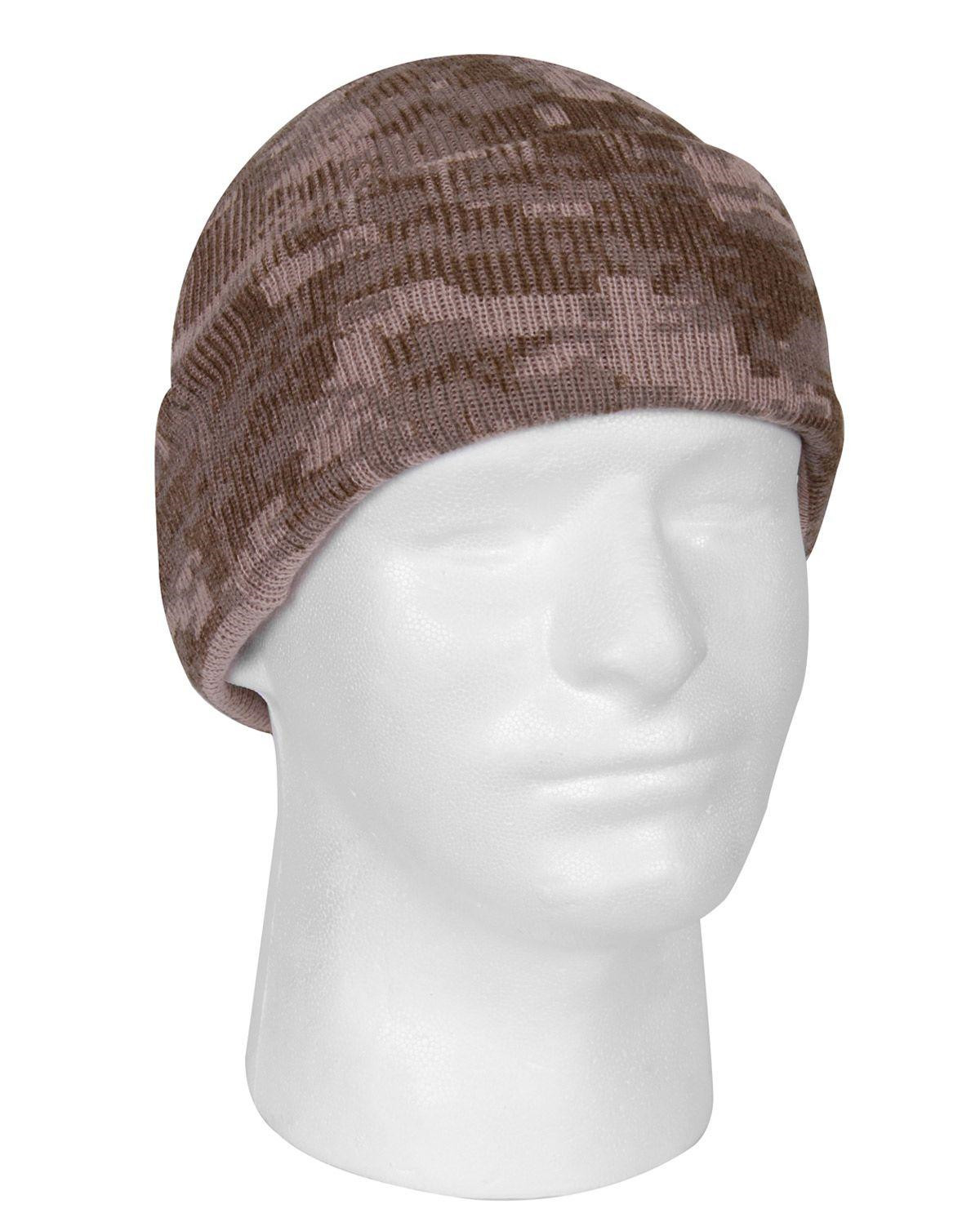 Image of   Rothco Camo Watch Cap (Desert Digital Camo, One Size)