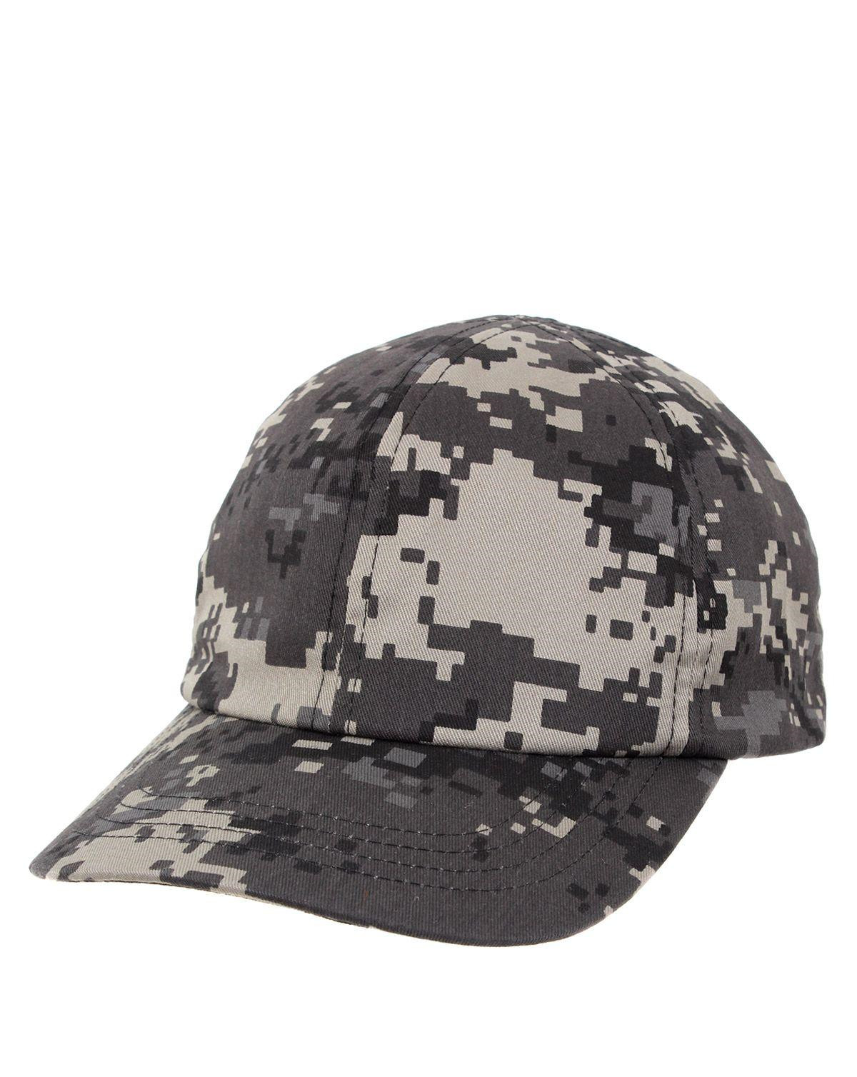 Image of   Rothco Camouflage Baseball Cap til Børn (Dæmpet Urban Digital Camo, One Size)
