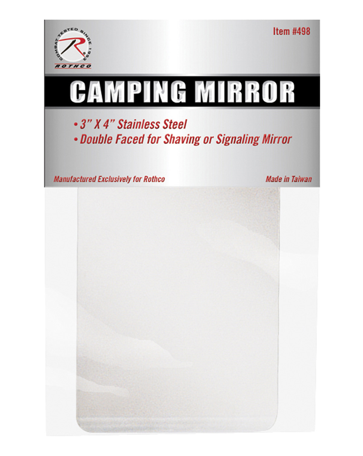 Image of   Rothco Camping Spejl (Spejl, One Size)