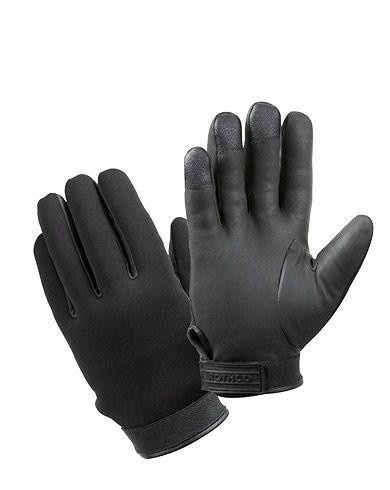 Image of   Rothco Cold Weather Stretchfabric Duty Gloves (Sort, 2XL)