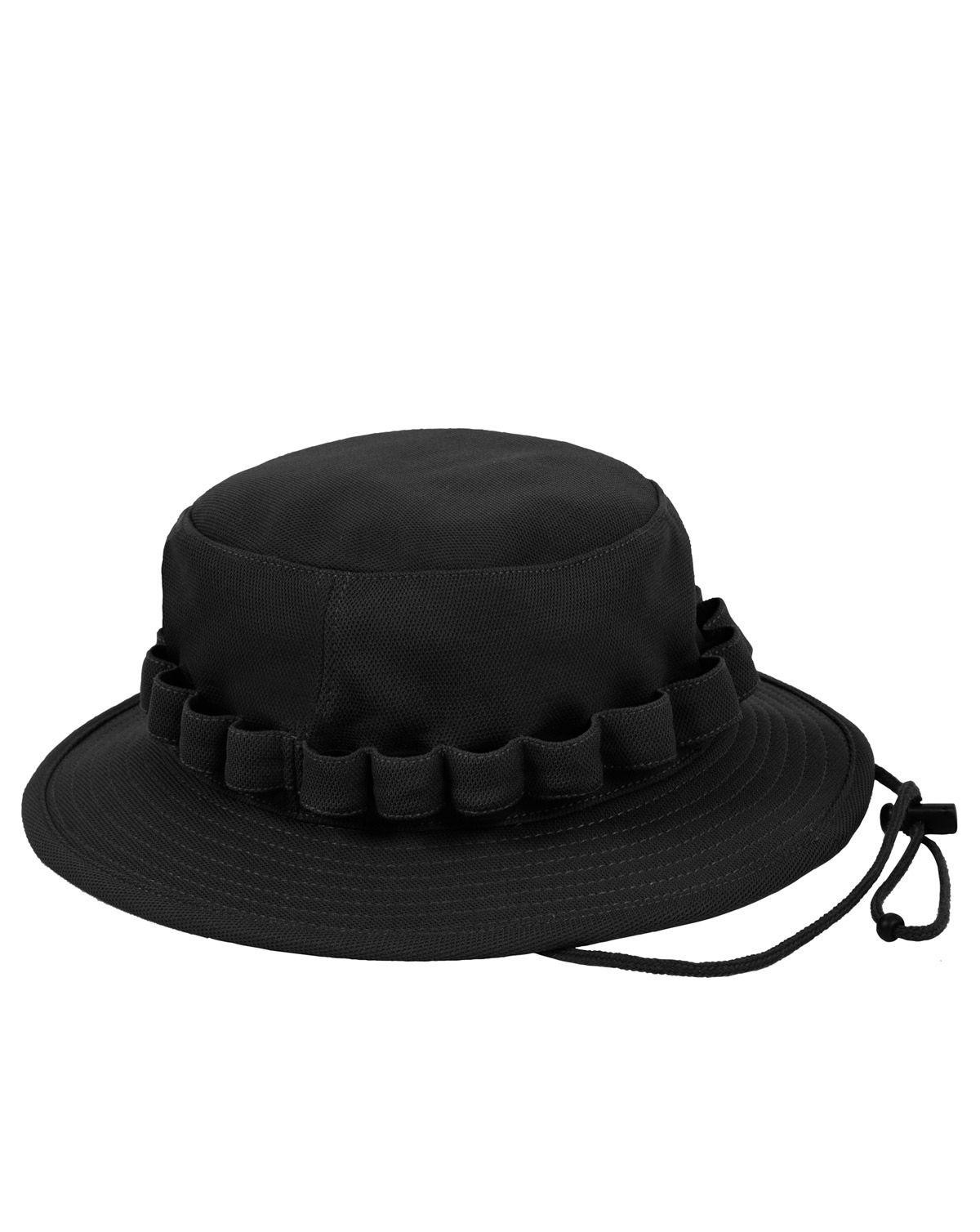 Image of   Rothco Coolweight Boonie Hat (Sort, S/M)