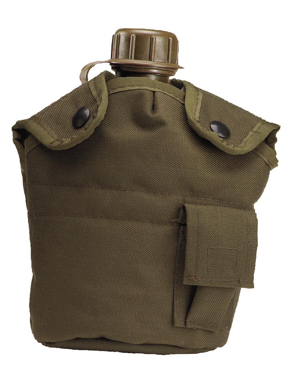Image of   Rothco Cover til Canteen - Forstærket Nylon (Oliven, One Size)