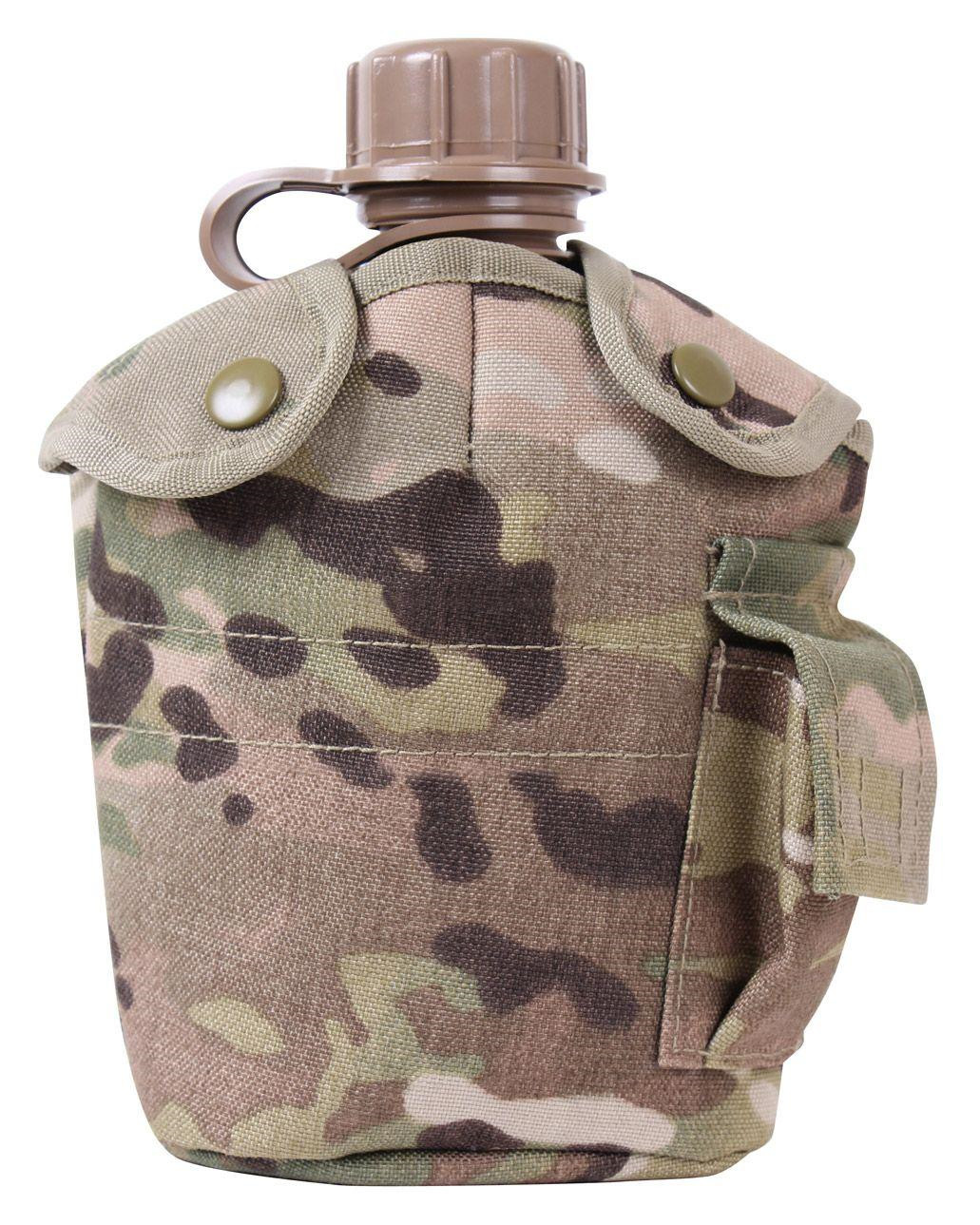 Image of   Rothco Cover til Canteen - MOLLE (Multicam, One Size)