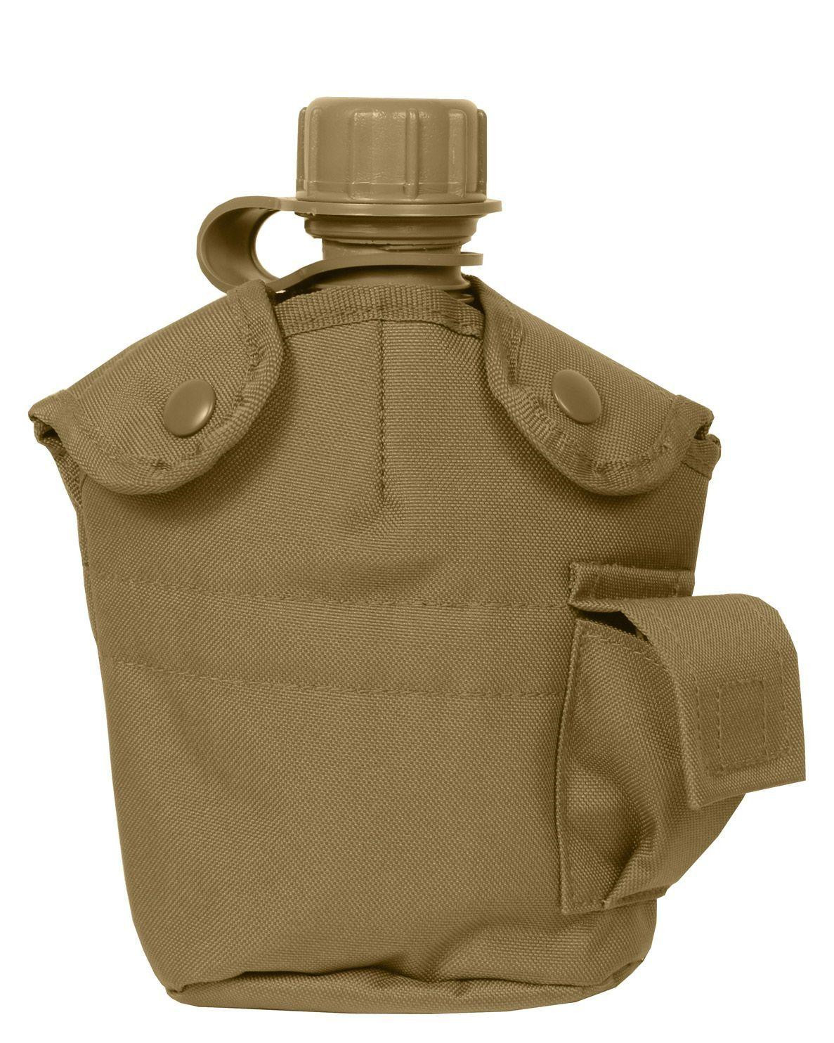 Image of   Rothco Cover til Canteen - MOLLE (Coyote Brun, One Size)