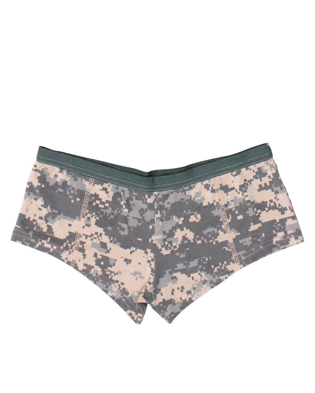 Image of   Rothco Dame Booty Shorts (ACU Camo, 2XL)