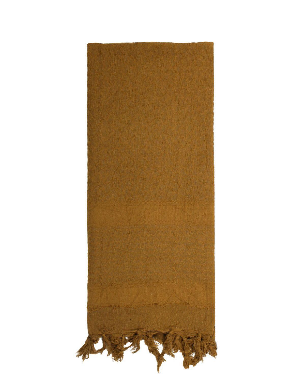 Image of   Rothco Deluxe Partisan Tørklæde Ensfarvet (Coyote Brun, One Size)