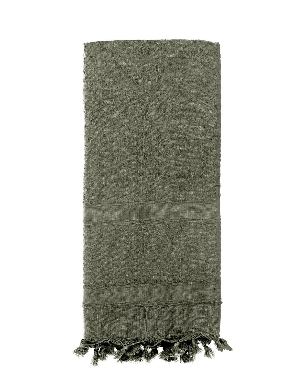 Image of   Rothco Deluxe Partisan Tørklæde Ensfarvet (Blad Grøn, One Size)