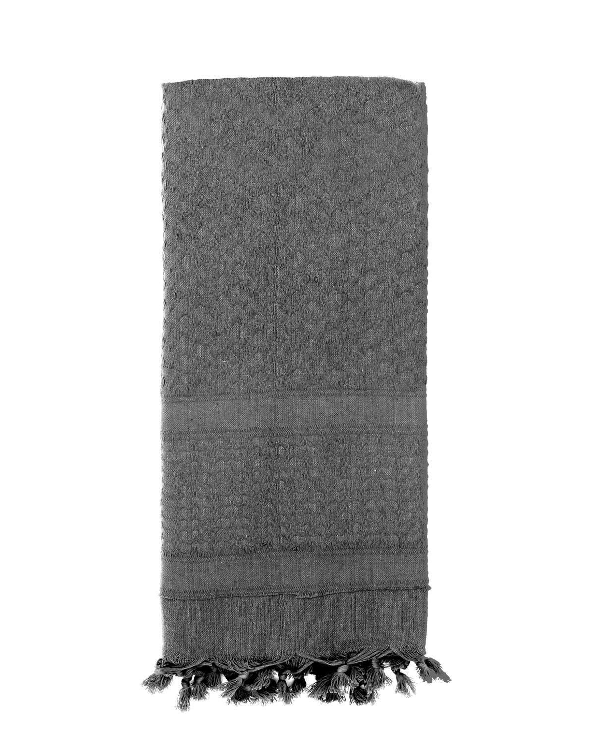 Image of   Rothco Deluxe Partisan Tørklæde Ensfarvet (Grå, One Size)