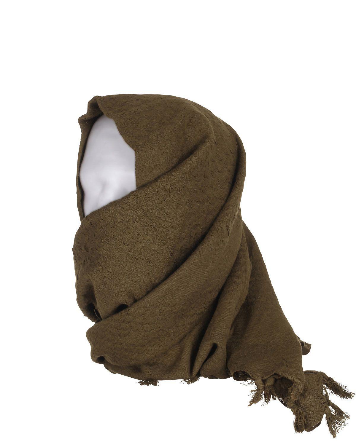 Image of   Rothco Deluxe Partisan Tørklæde Ensfarvet (Oliven, One Size)