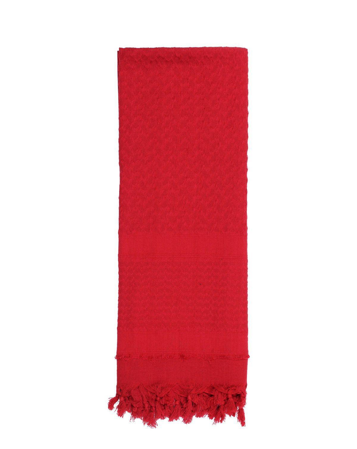 Image of   Rothco Deluxe Partisan Tørklæde Ensfarvet (Rød, One Size)