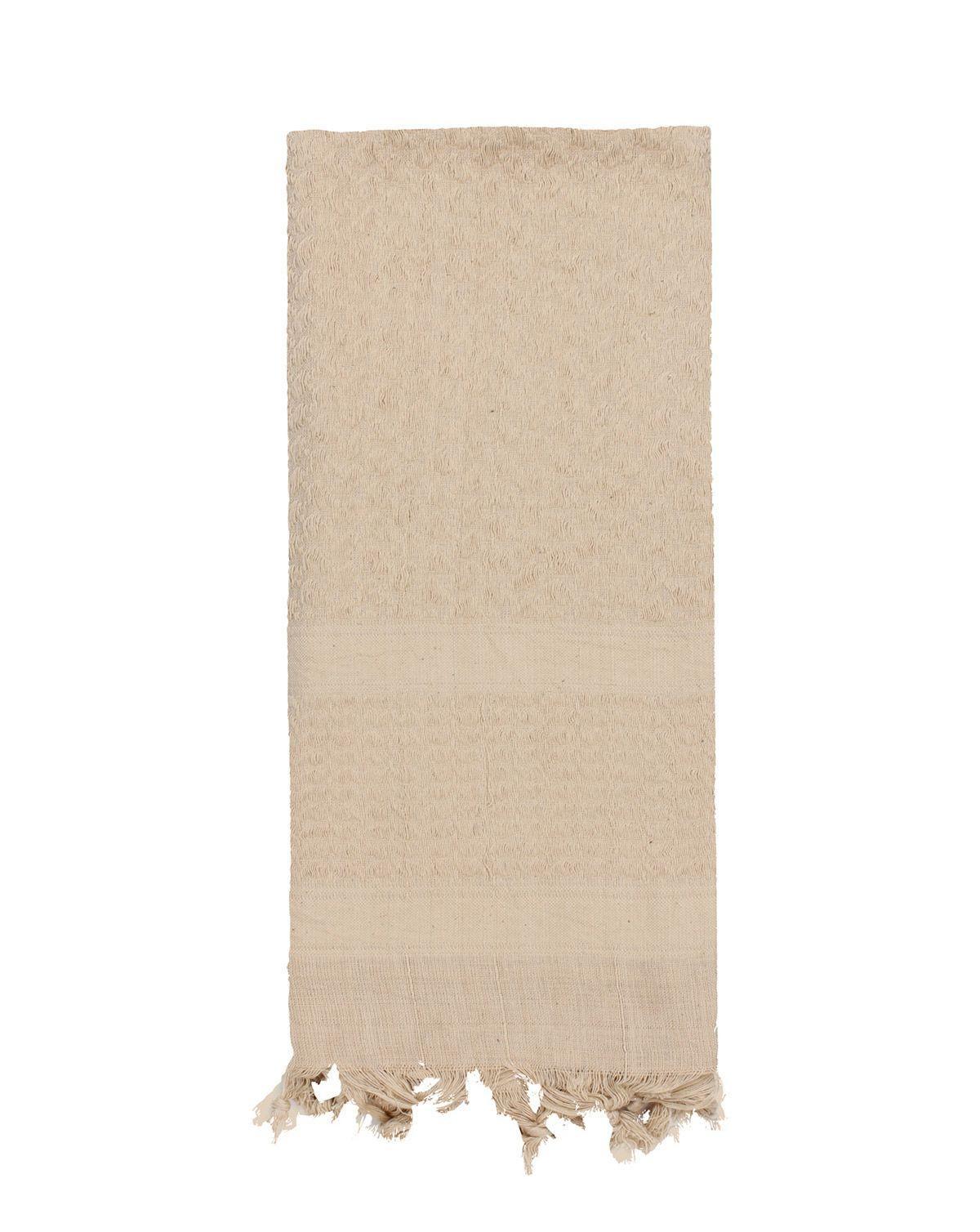 Image of   Rothco Deluxe Partisan Tørklæde Ensfarvet (Khaki, One Size)
