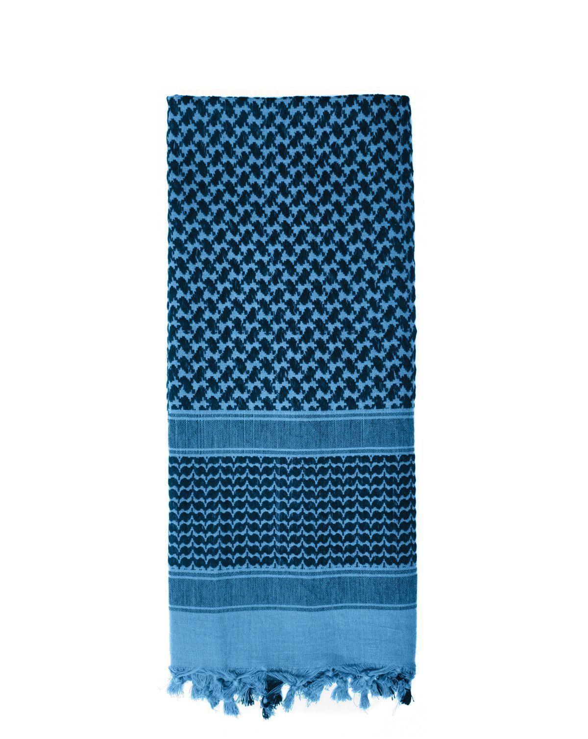 Image of   Rothco Deluxe Partisan Tørklæde (Sort / Blå, One Size)