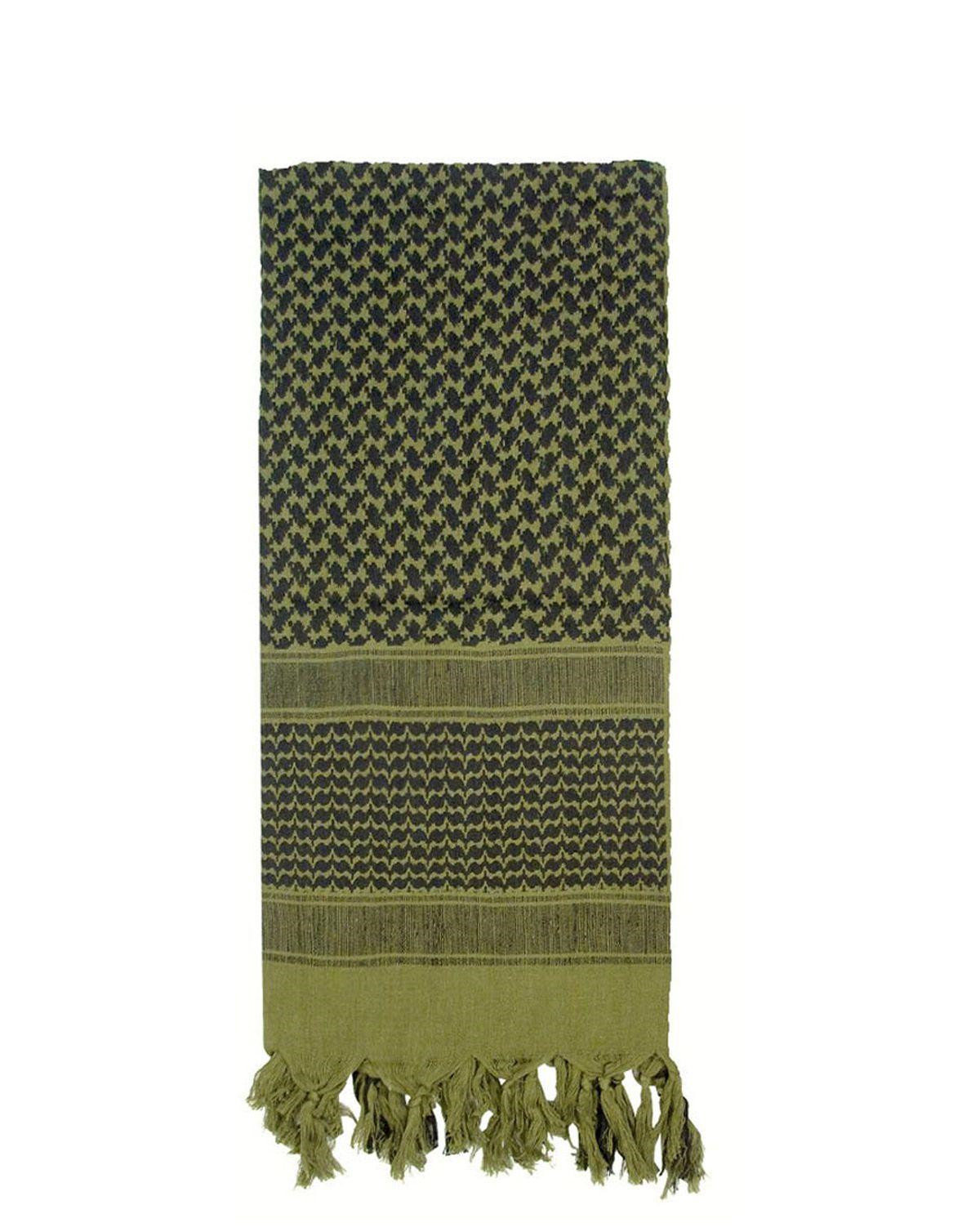 Image of   Rothco Deluxe Partisan Tørklæde (Oliven, One Size)