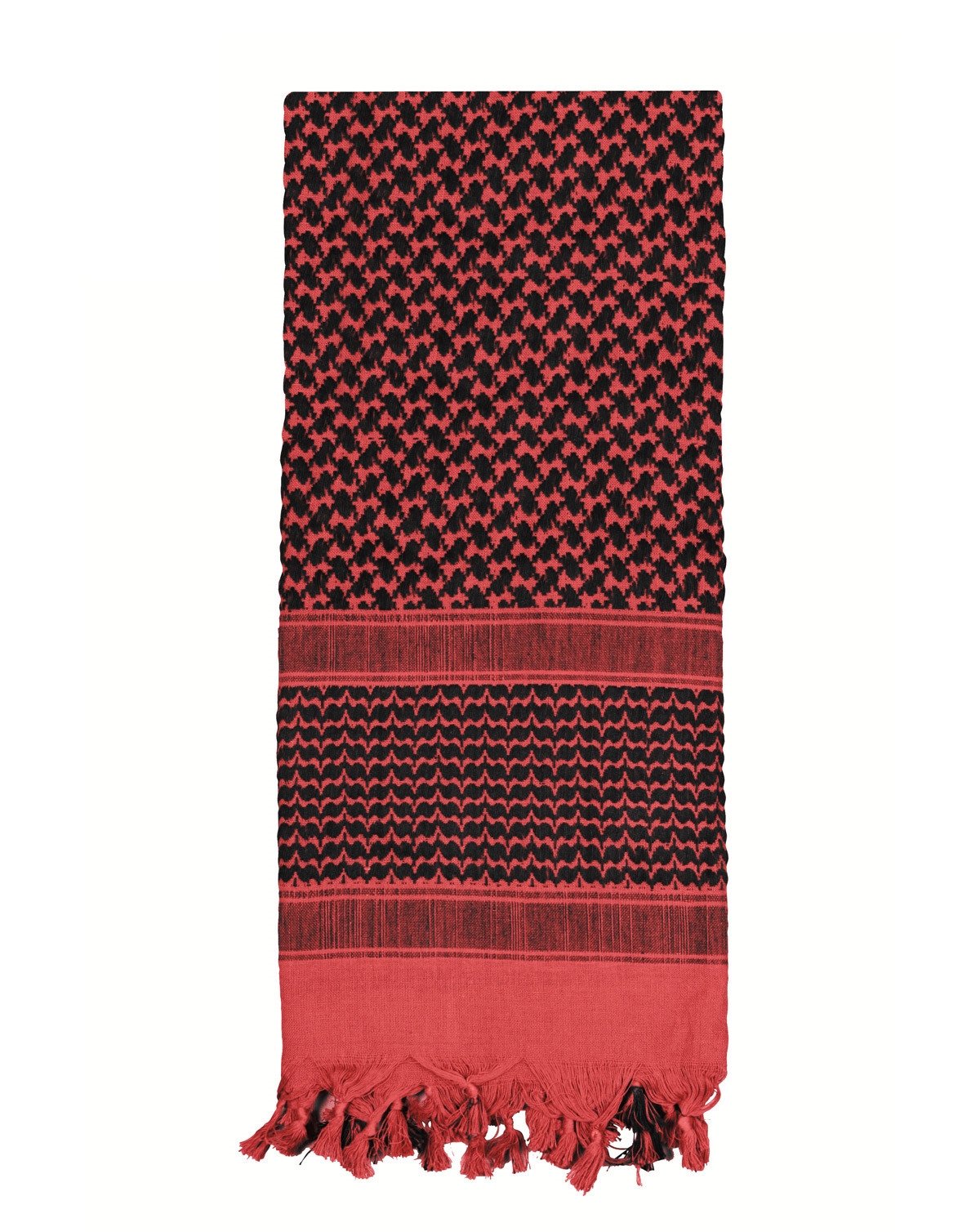 Image of   Rothco Deluxe Partisan Tørklæde (Rød / Sort, One Size)