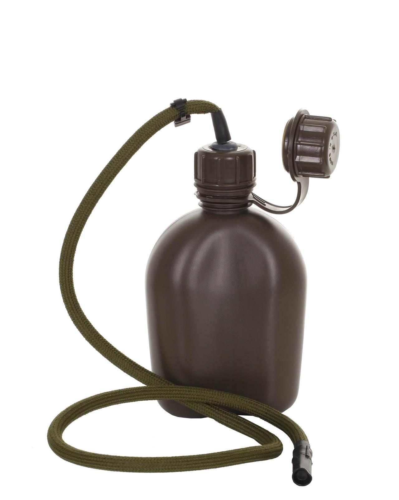 Image of   Rothco Drikkeslange til Rothco Feltflaske - plast, 1 liter (Oliven, One Size)