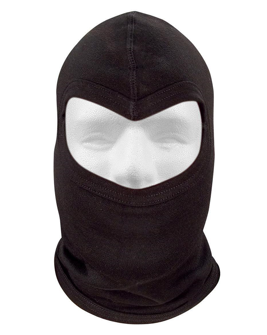 Image of   Rothco Flammehæmmende Balaclava - 1-Hul (Sort, One Size)