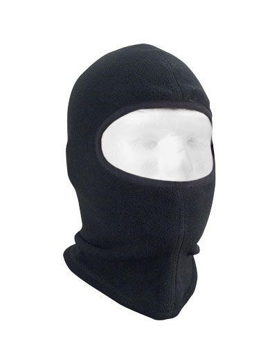 Image of   Rothco Fleece Balaclava - 1 Hul (Sort, One Size)