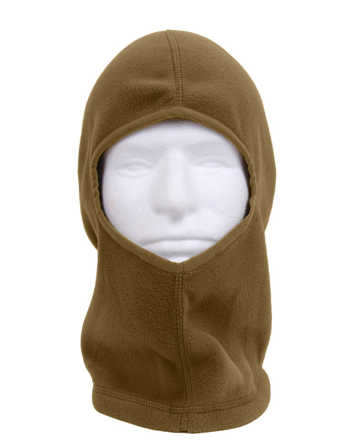 Image of   Rothco Fleece Balaclava - 1 Hul (Coyote Brun, One Size)
