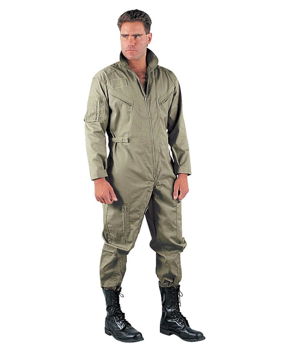 Image of   Rothco Flightsuits (Blad Grøn, L)