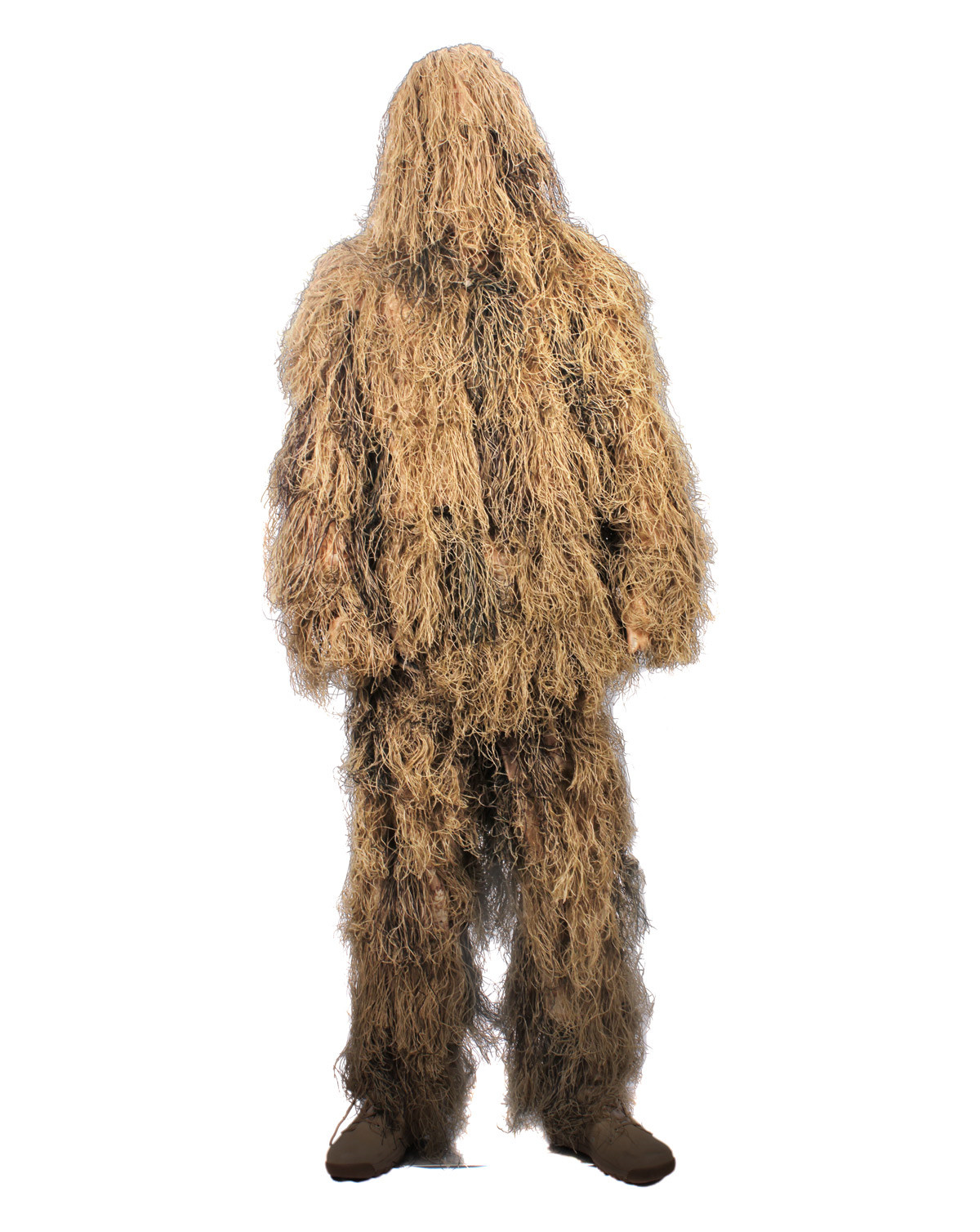 Rothco Ghillie Suit / Kamouflage-set, Lättvikt (Desert Tan, XL/2XL)