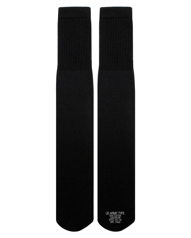 Image of   Rothco G.I. Style Tube Sokker - G.I. Style (Sort, One Size)