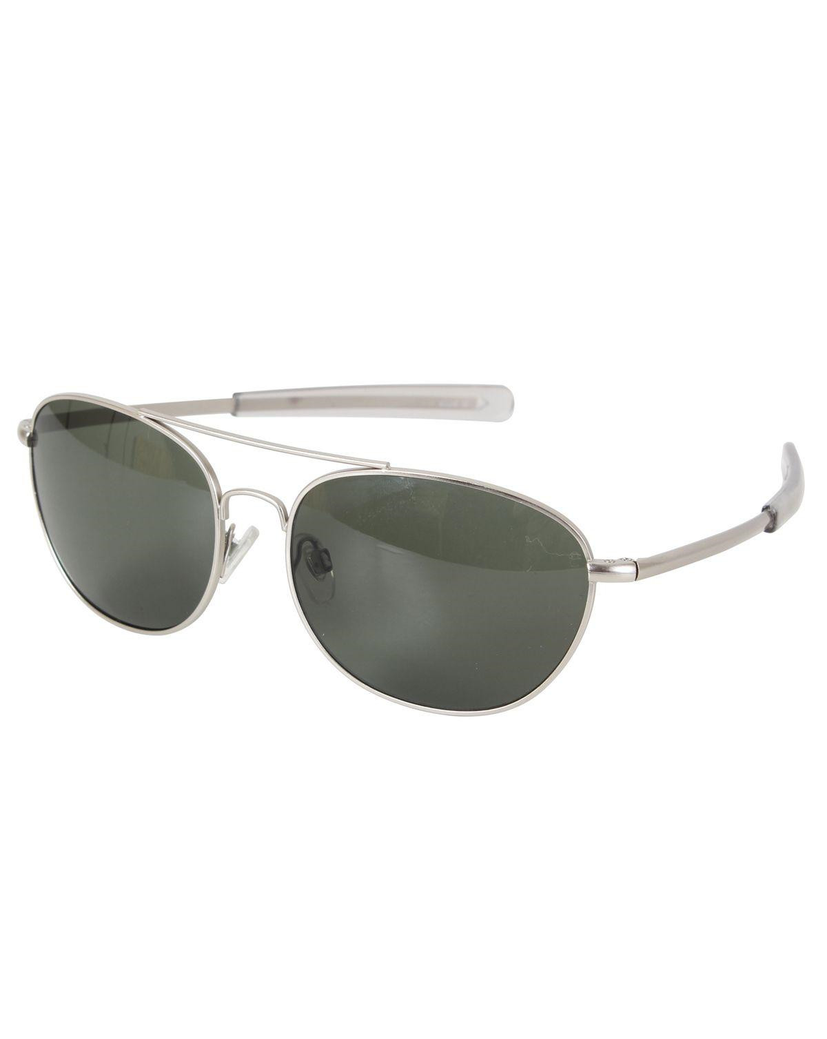 Image of   Rothco G.I. Type Pilot's Aviator Solbrille (Krom m. Røget Glas, One Size)