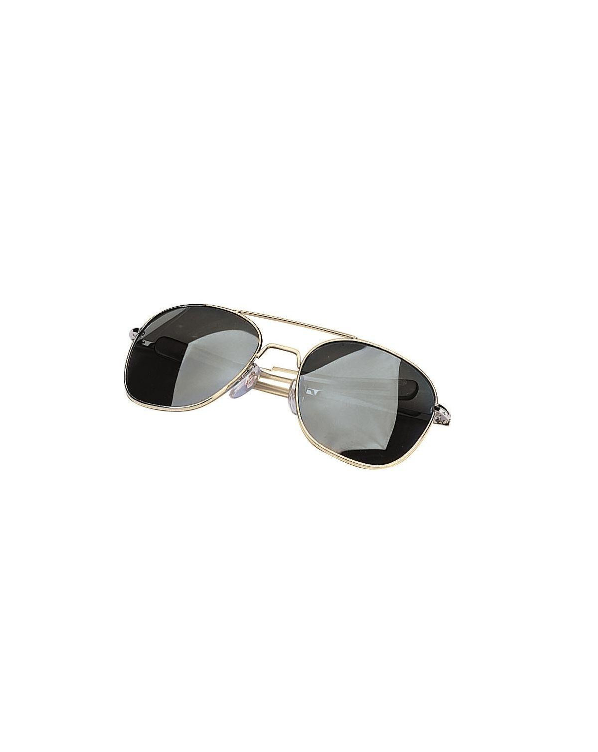 Image of   Rothco G.I. Type Pilot's Aviator Solbrille (Grå, One Size)