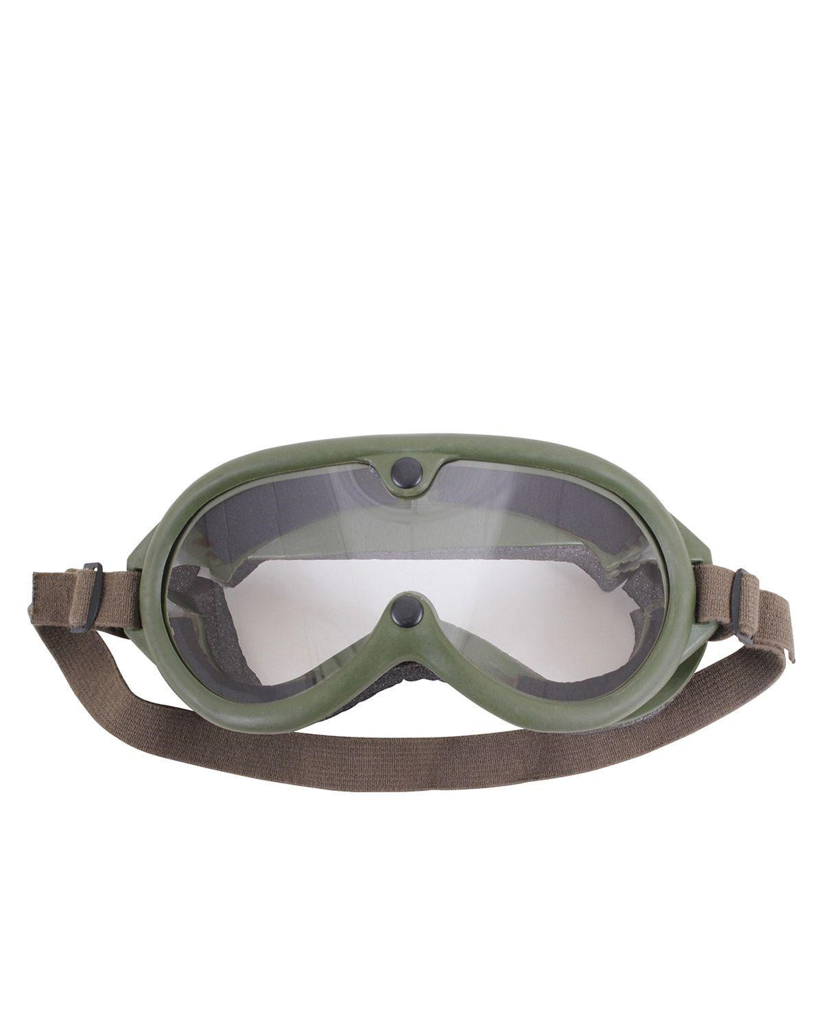 Image of   Rothco Goggles (Oliven, One Size)