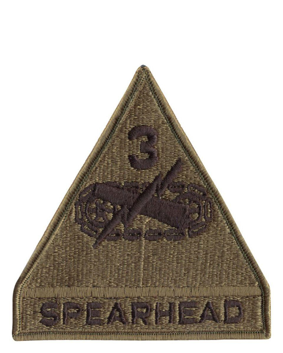 Image of   Rothco Gradtegn Patch - U.S. Spearhead 3rd (Oliven, One Size)