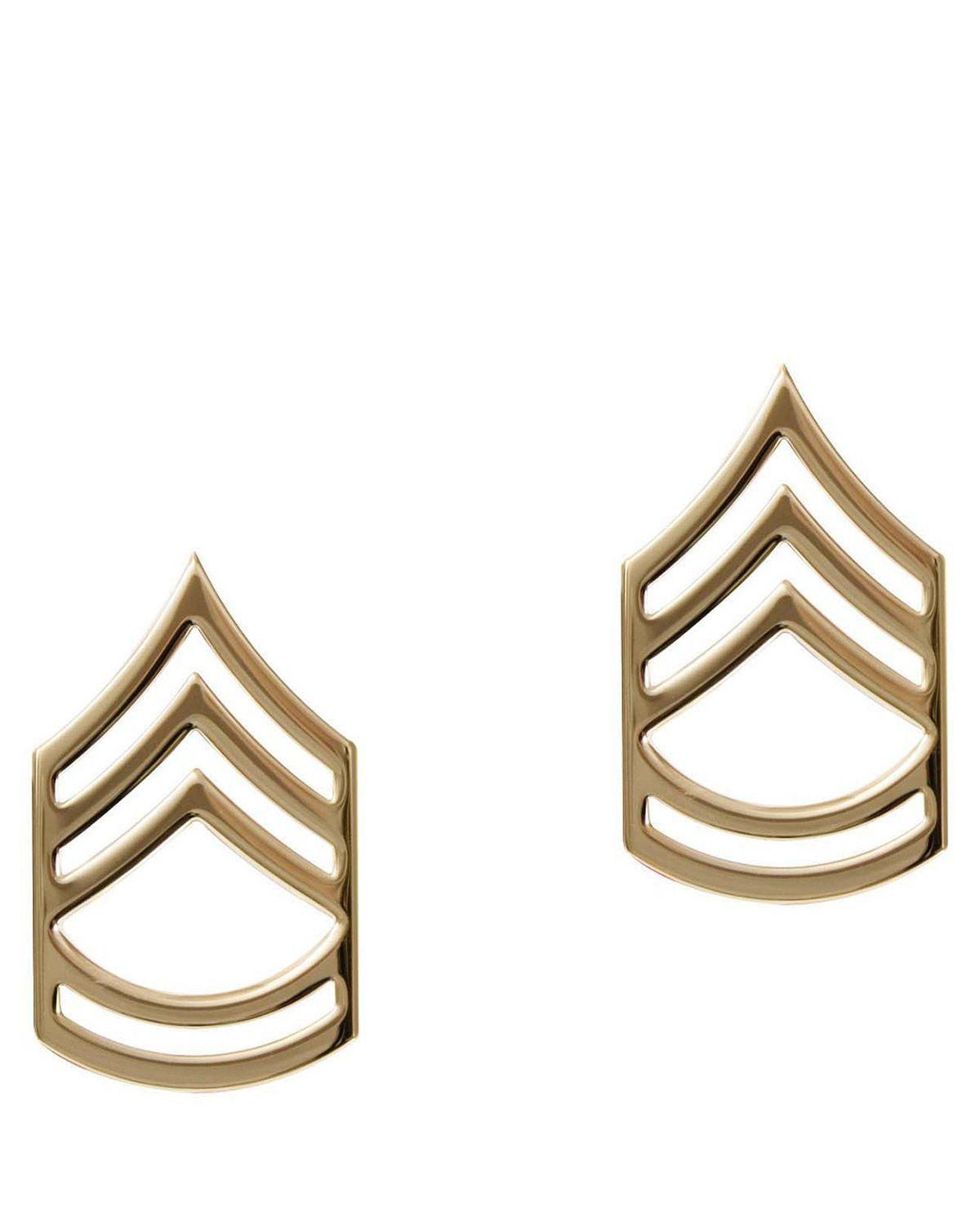 Image of   Rothco Gradtegn - U.S. Sergeant First Class (Guld, One Size)