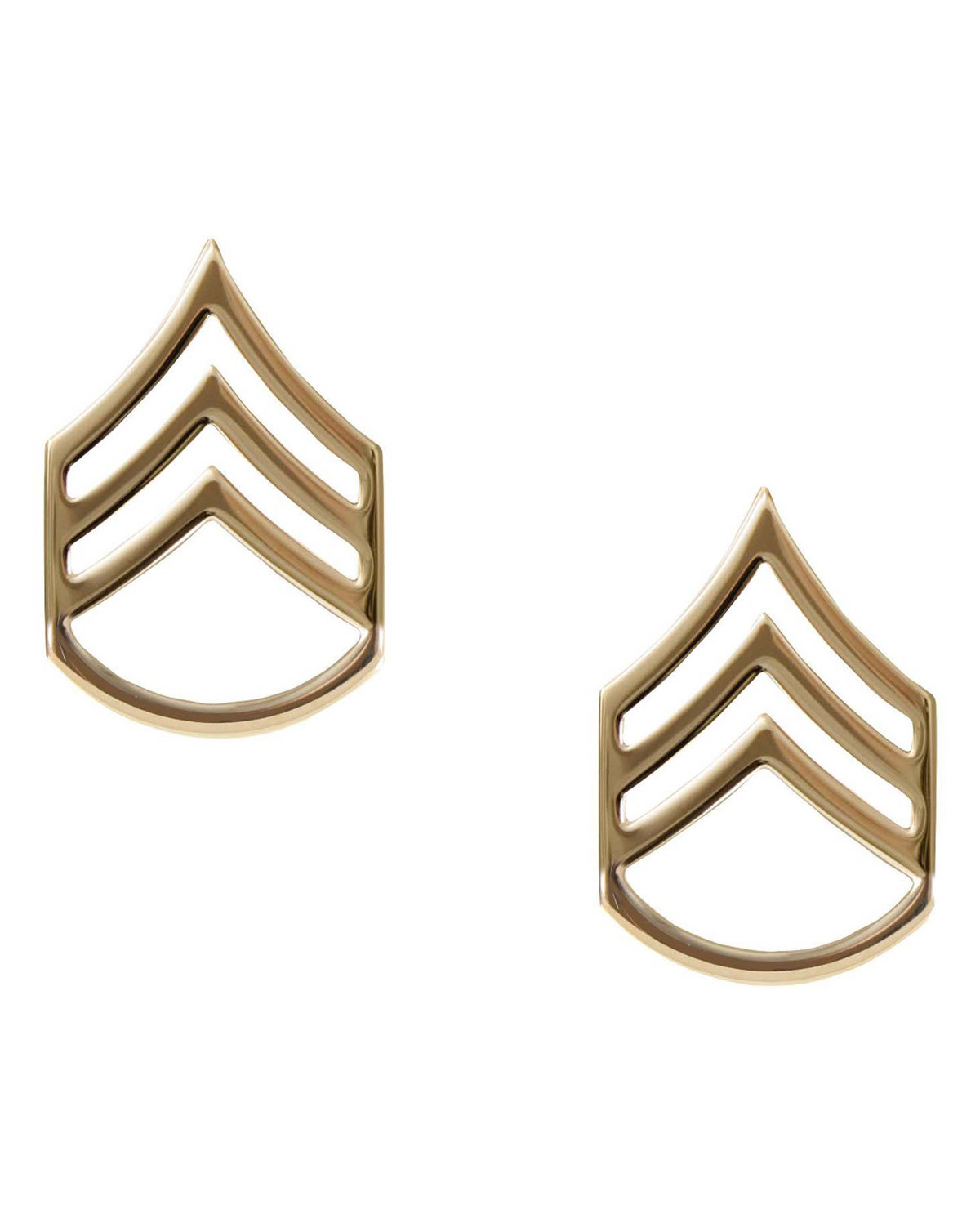 Image of   Rothco Gradtegn - U.S. Staff Sergeant (Guld, One Size)