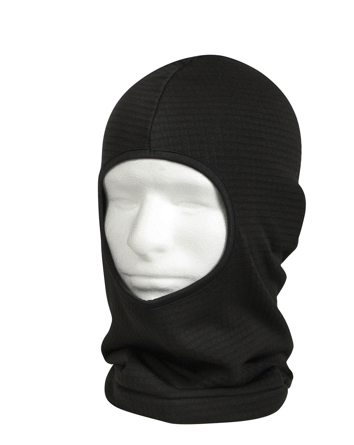 Image of   Rothco Gridfleece Balaclava (Sort, One Size)