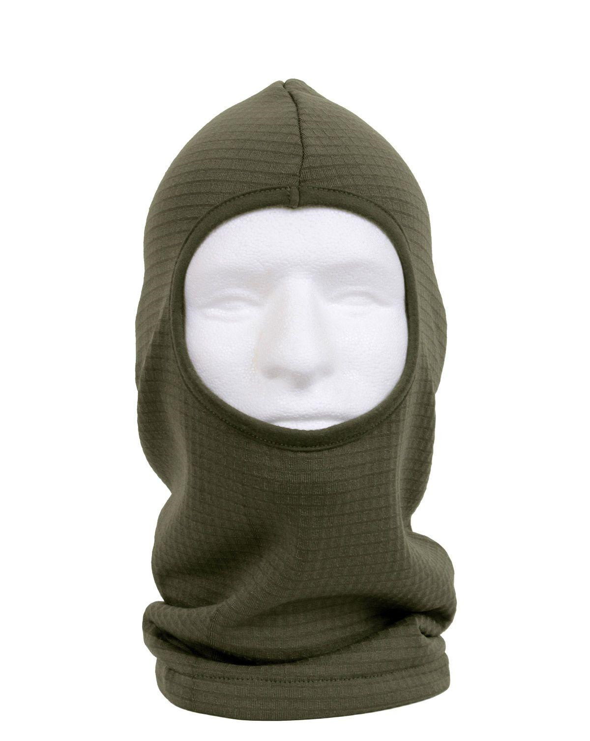 Image of   Rothco Gridfleece Balaclava (Oliven, One Size)