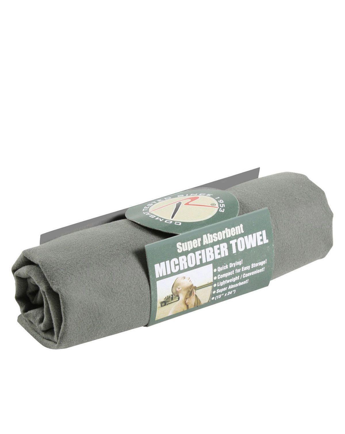 Billede af Rothco Hurtigtørrende håndklæder 75x125cm (Blad Grøn, One Size)