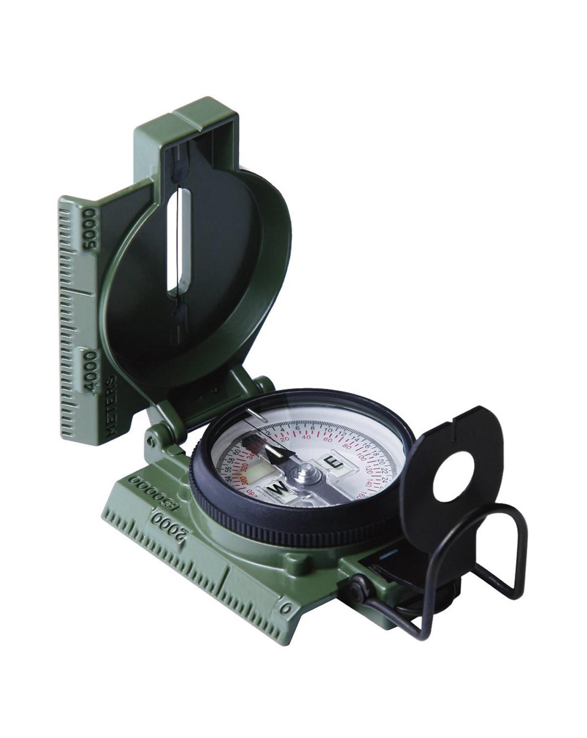 Rothco Kompas - Cammenga G.I. Military Phosphorescent Lensatic (Oliven, One Size) (613902041509)