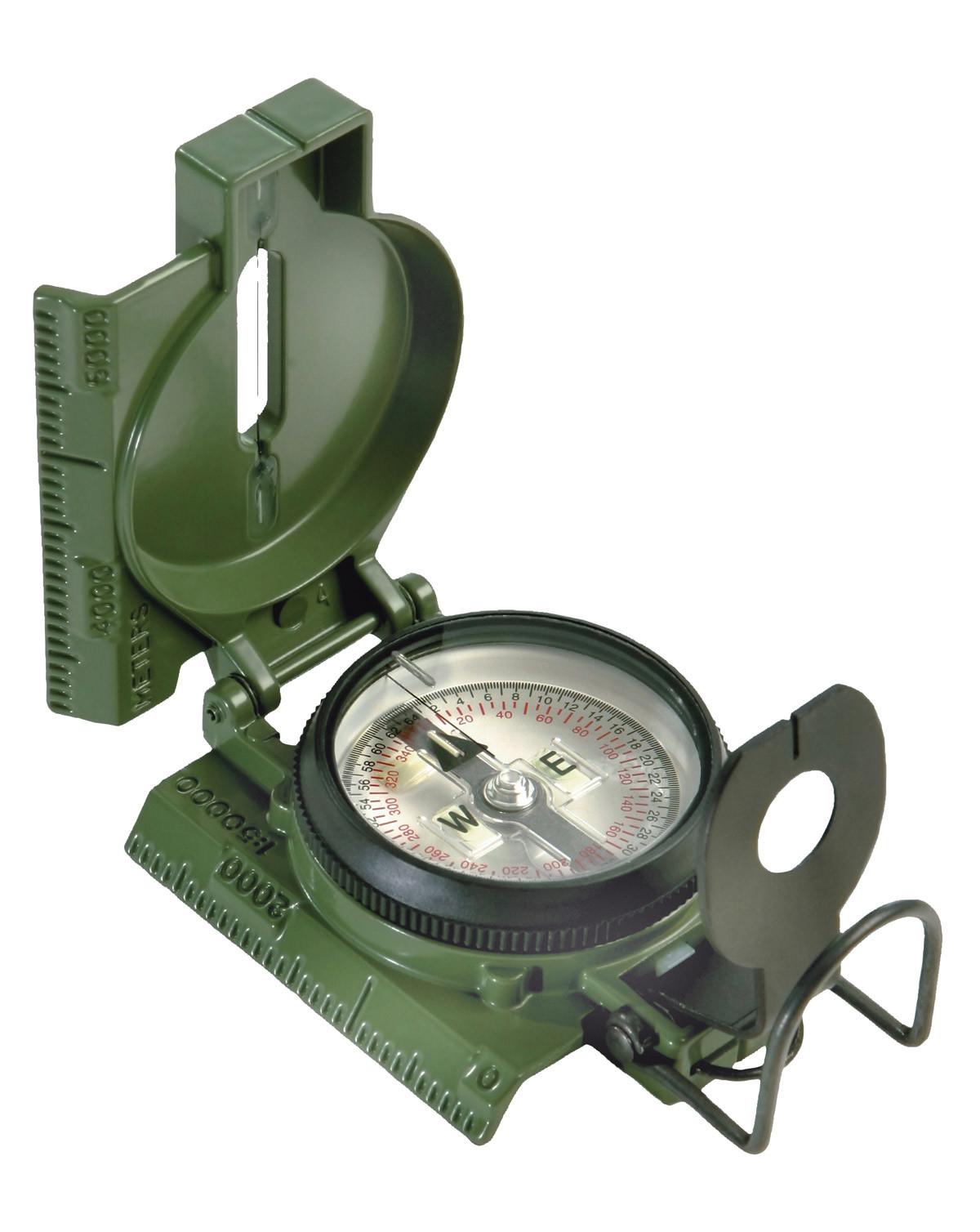 Rothco Kompas - Cammenga G.I. Special Tritium Lensatic (Oliven, One Size) (613902917002)