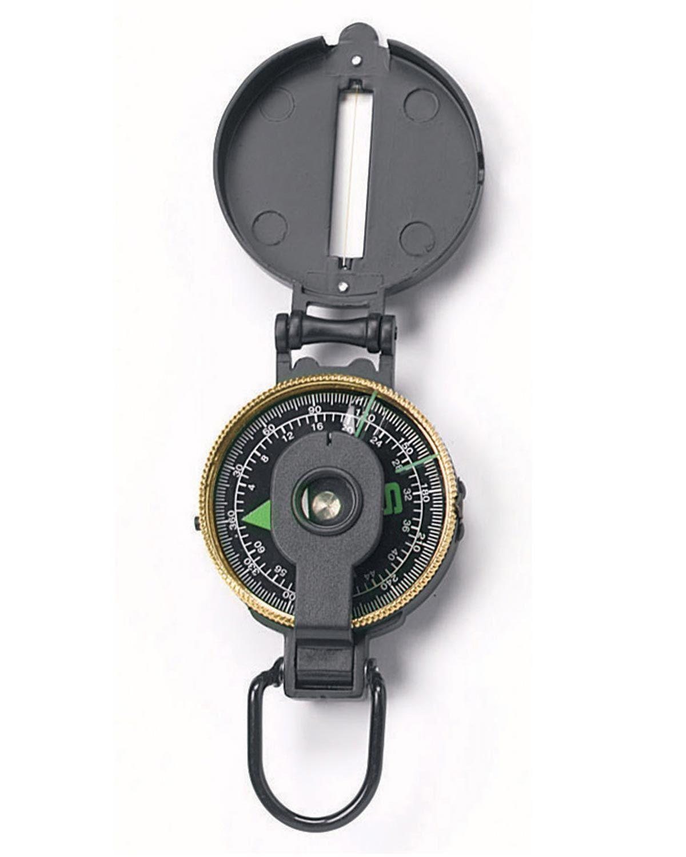 Rothco Lensatic Kompas - Metaletui (Sort, One Size) (613902003996)