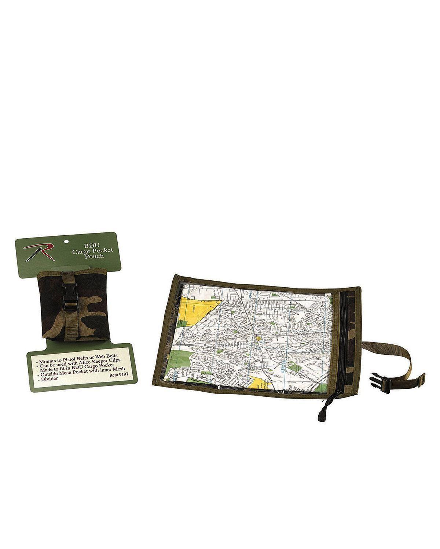 Image of   Rothco Lomme/Mappe til Kort (Woodland, One Size)